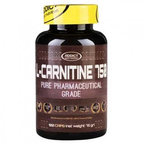 ADDICT L-Carnitin Kapseln (100 caps)