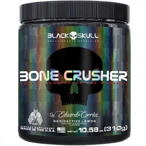 Black Skull Bone Crusher (60 Servings) + Skull Shaker limited Edition