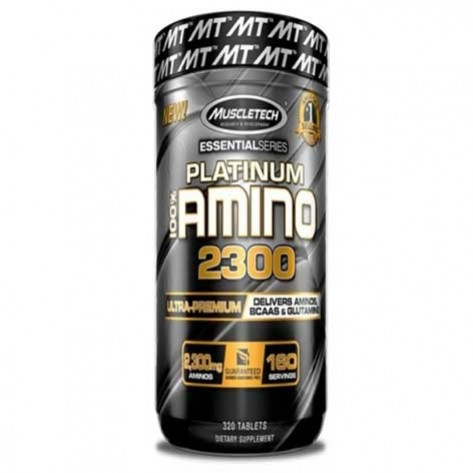 Muscletech Essential Amino 2300 Platinum 100% (320 Stück)