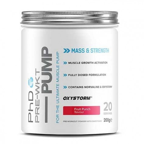 PHD Nutrition - Pump-Booster Pre-Workout (20 Servings)