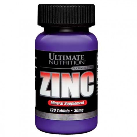 Ultimate Nutrition Zinc (120 Caps)