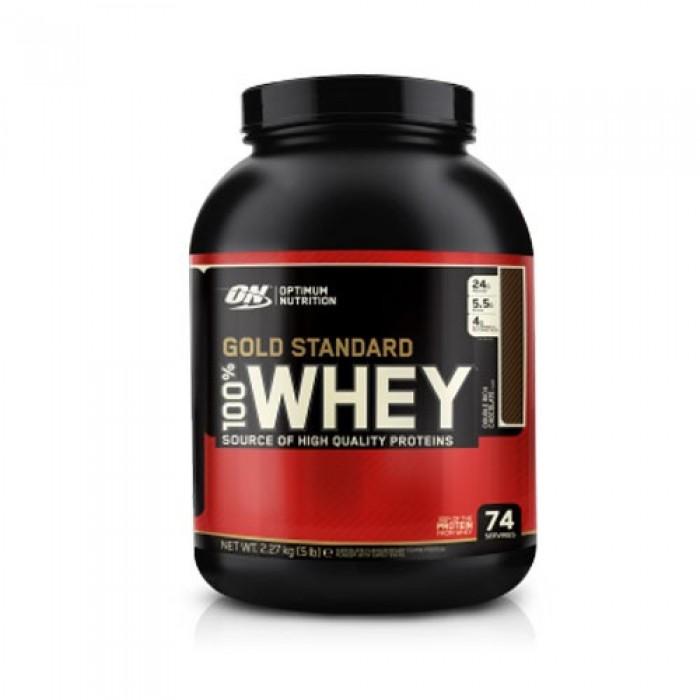 optimum nutrition 100 whey gold standard 2 3kg booster24. Black Bedroom Furniture Sets. Home Design Ideas