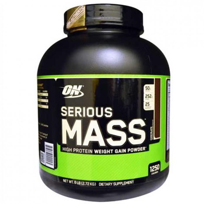 optimum nutrition serious mass 2 73kg booster24. Black Bedroom Furniture Sets. Home Design Ideas