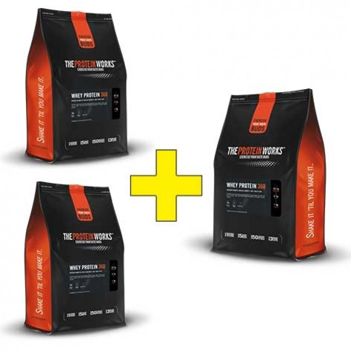 whey protein 360 600g proteine booster24. Black Bedroom Furniture Sets. Home Design Ideas