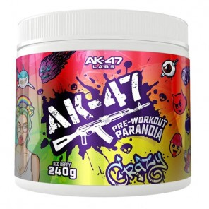 AK 47 Labs Preworkout (120 Servings)