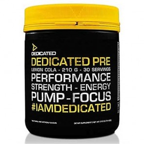 Dedicated Nutrition PRE (30 Servings)