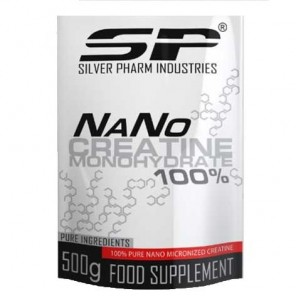 Silver Pharm 100% Micronized Creatine Monohydrate (500g)